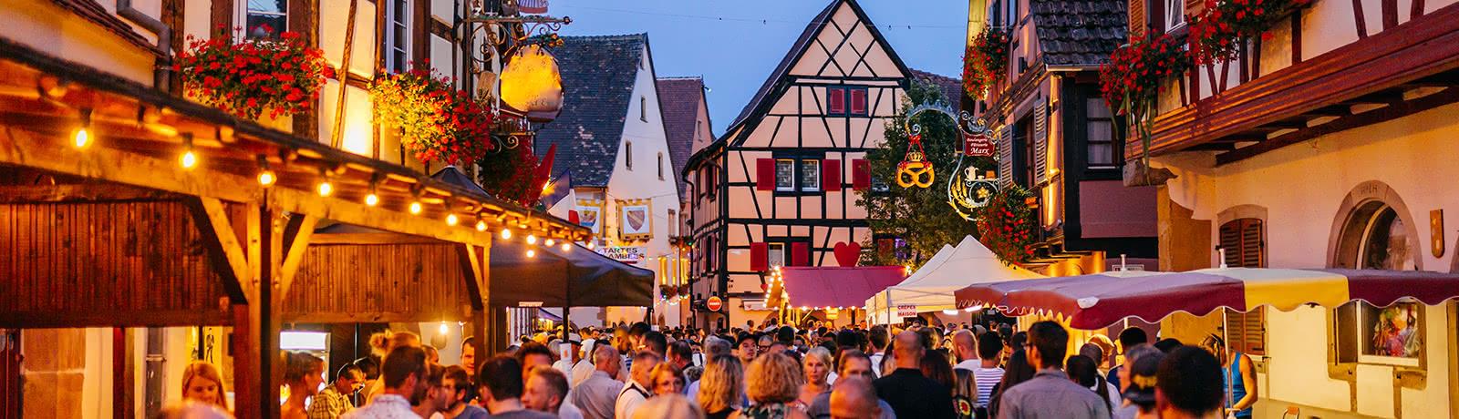 Fête du vin Eguisheim