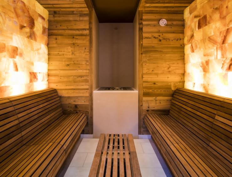 Sauna - Hostellerie des Châteaux