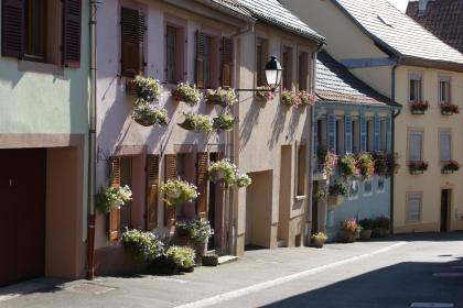 Une ruelle typique à Thann ©Vreni Hamann